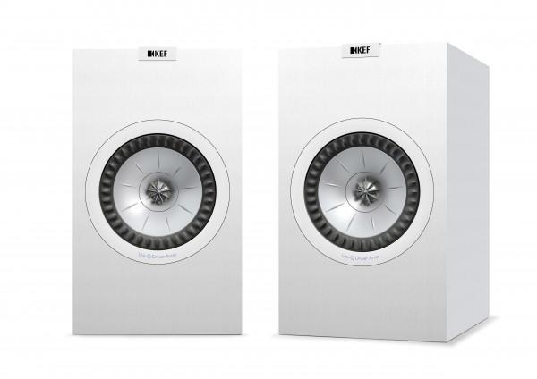 Kef Q350 Regallautsprecher Paar Weiß