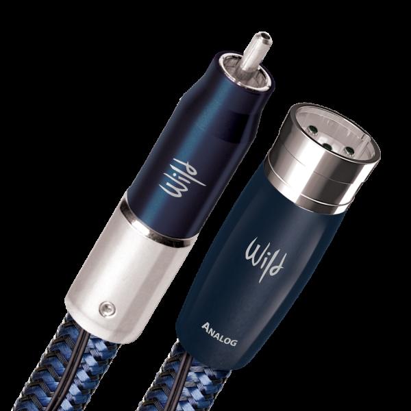 AudioQuest Wild Blue Yonder Analoges Kabel RCA→XLR