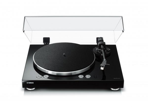Yamaha MusicCast Vinyl 500 Plattenspieler Front/Vorne Schwarz