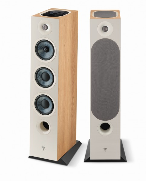 Focal Chora 826-D Standlautsprecher Front/Vorne Light Wood