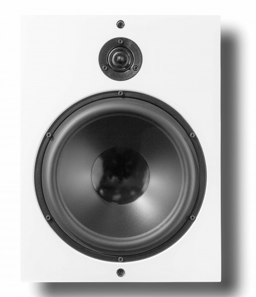 Artcoustic CPH-10 Passiv OnWall Lautsprecher Weiß Front/Vorne