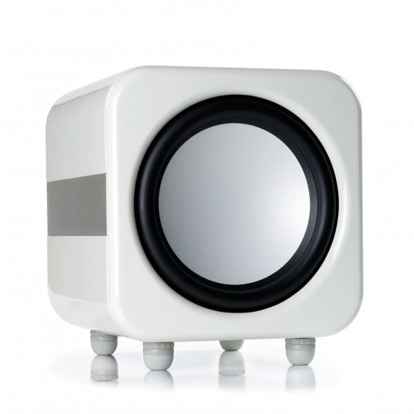Monitor Audio Apex AW12 Subwoofer Front/Vorne Weiß