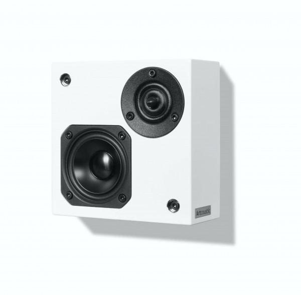 Artcoustic SL Target Mini OnWall Lautsprecher Weiß Front/Vorne