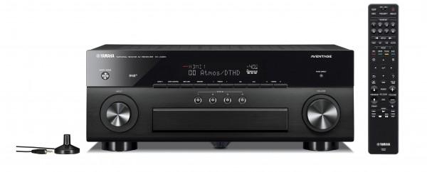 Yamaha RX-A880 AV Receiver Front/Vorne Schwarz