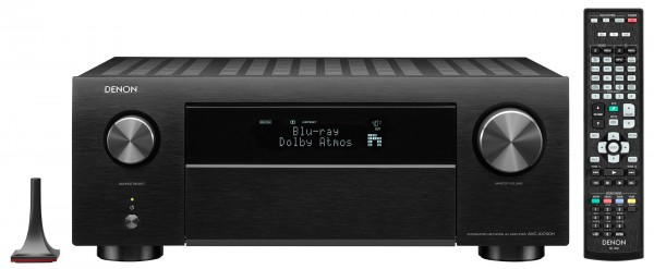 ANY.media - Denon AVC-X4700H 9.2 AV Receiver 8K Hdmi 2.1 Front Black