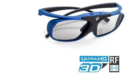 HiShock RF Pro Deep Heaven 3D Brille
