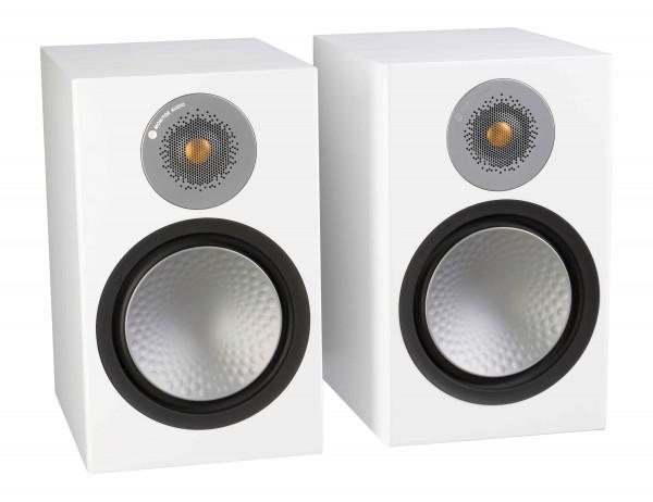 Monitor Audio Silver 100 Regallautsprecher Front/Vorne Weiß