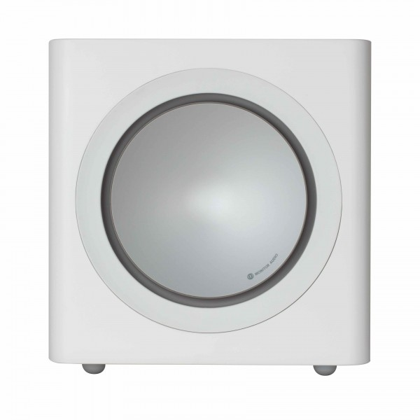 Monitor Audio Radius 390 Subwoofer Weiß Side/Seite