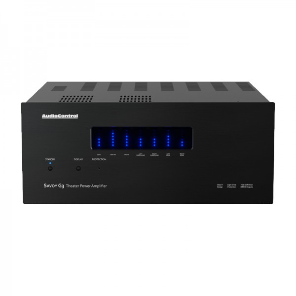 AudioControl Savoy G3 AV Endstufe Front/Vorne