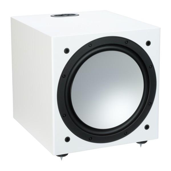 Monitor Audio Silver W12 Subwoofer Front/Vorne Weiß