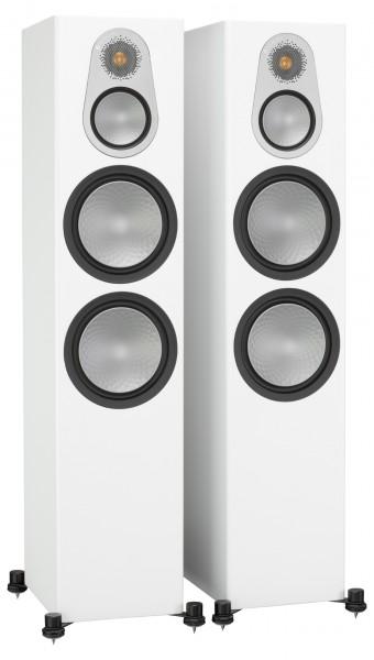 Monitor Audio Silver 500 Standlautsprecher Front/Vorne Weiß