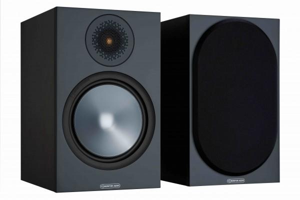 Monitor Audio Bronze 100 Regallautsprecher Front/Vorne Schwarz
