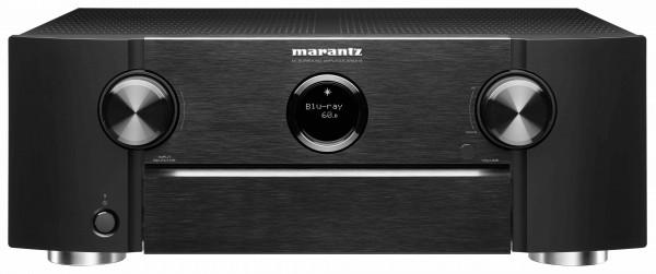Marantz SR6015 AV-Verstärker Schwarz Front/Vorne