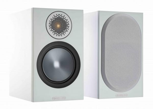 Monitor Audio Bronze 50 Regallautsprecher Front/Vorne Weiß
