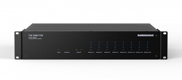 AudioControl Director M6800 Endstufe Front/Vorne Schwarz