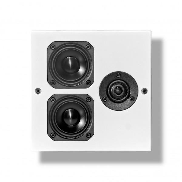 Artcoustic SL Target OnWall Lautsprecher Weiß Front/Vorne