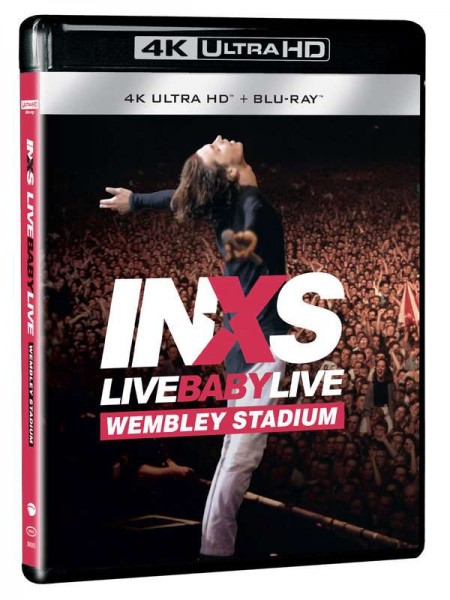 INXS Live Baby Live in Wembley 4KUHD + BluRay