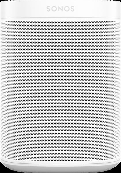 Sonos One All-in-One Lautsprecher Front/Vorne Weiß