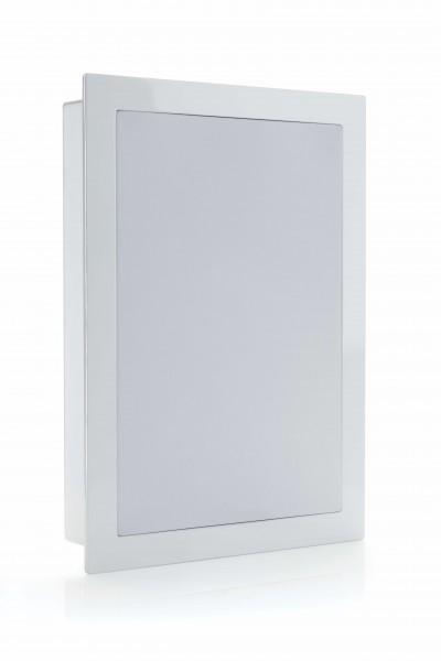 Monitor Audio SoundFrame 1 InWall Einbaulautsprecher Weiß Gitter Front/Vorne