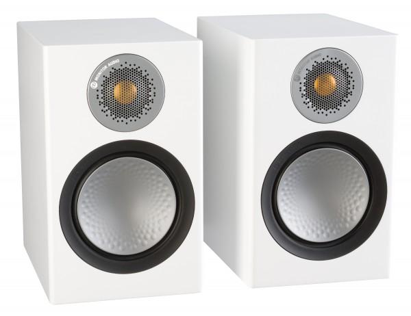 Monitor Audio Silver 50 Regallautsprecher Front/Vorne Weiß
