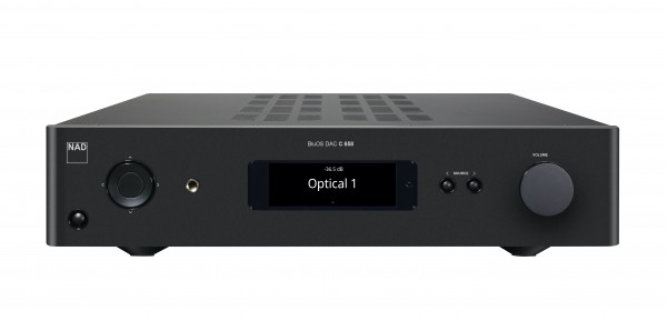 NAD C658 BluOS Streaming Vorverstärker Front/Vorne