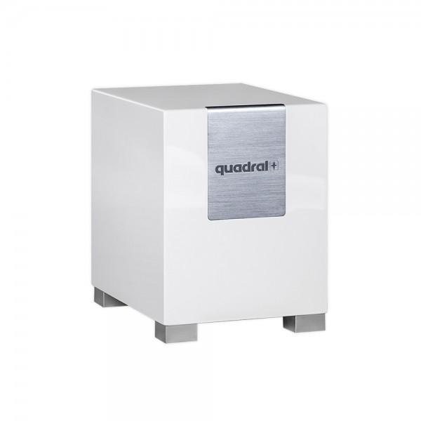 Quadral Qube 8 Subwoofer Front/Vorne Weiß