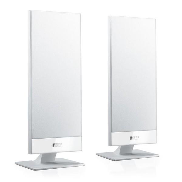 Kef T101 OnWall Lautsprecher Paar Weiß